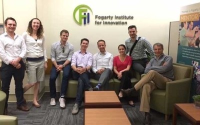 Stanford Biodesign teams share medtech innovation ideas at Fogarty Institute