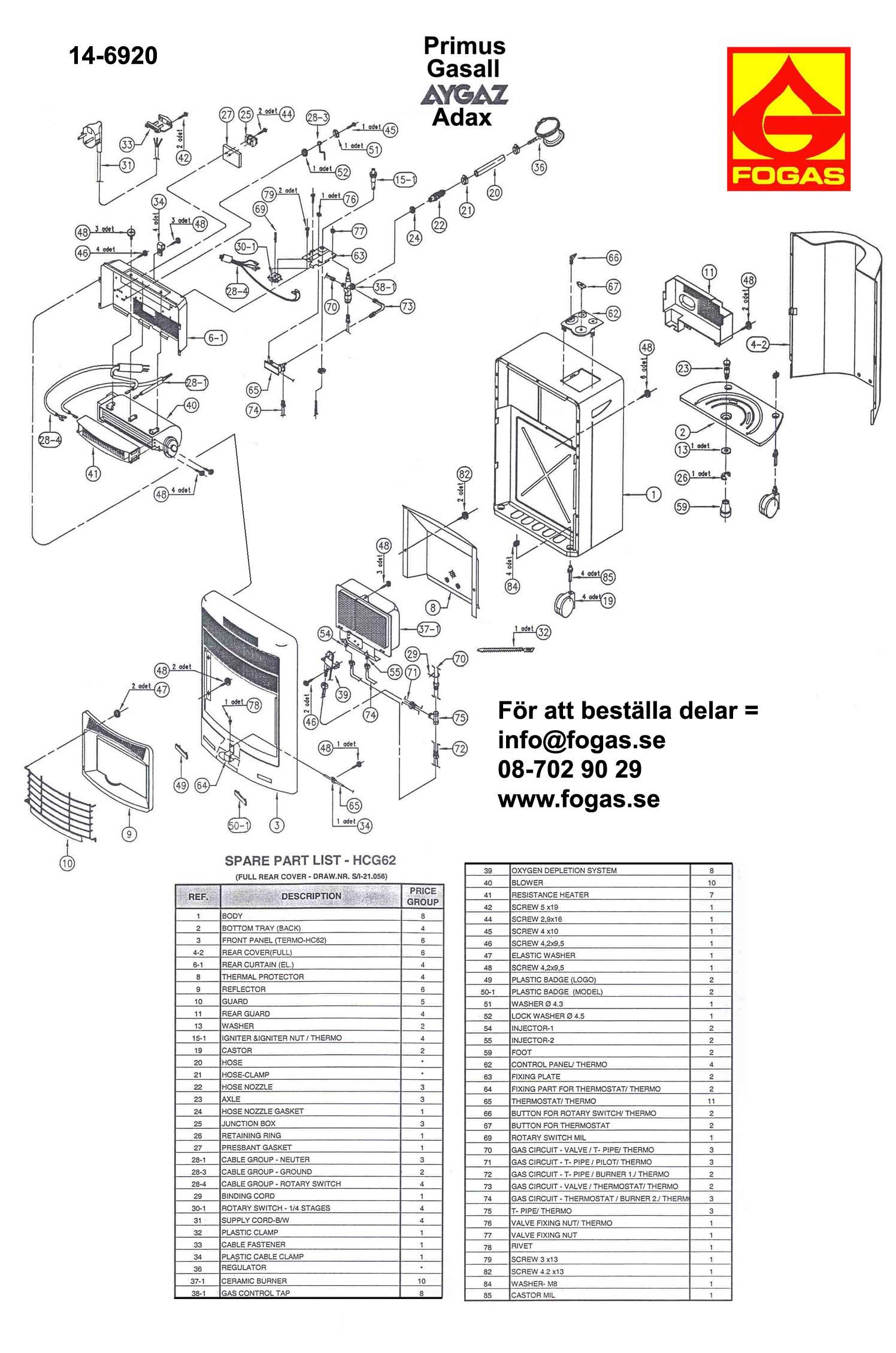Primus Service Manual
