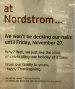Does Nordstrom have the right idea?