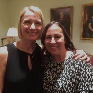 Foggy Mommy meets Eat Pray Love author Elizabeth Gilbert!