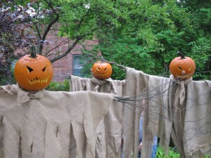 Scarecrows at Frog Alley