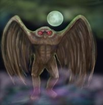 mothman painting