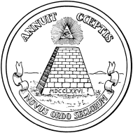 reverse of the U.S. seal