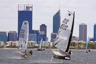 Image by Rick Steuart of Perth Sailing Photography