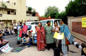 Delhi protesters