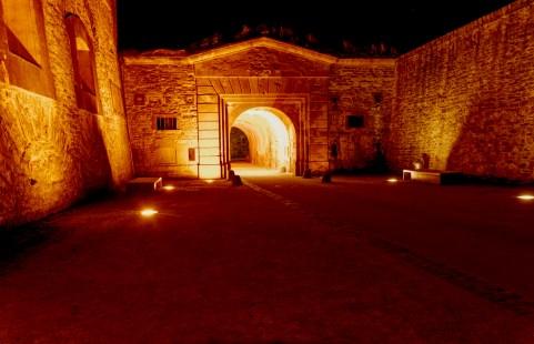 Eingangsbereich der Festung.