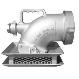 Aluminum Low-Flow Strainer Low Level
