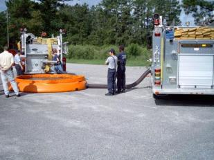 HORRY COUNTY SELF-SUPPORTING TANK DEMO