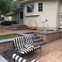 Interlocking Hardscape Project in Wayne