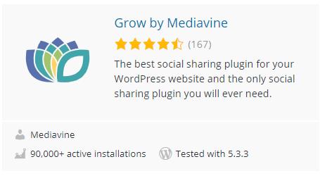 Grow by Mediavine Plugin