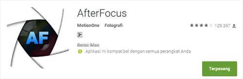 Aplikasi Edit Foto Bokeh Untuk Bikin Efek Blur Android