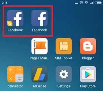 Cara Menggunakan Fitur Dual Apps Xiaomi MiUI 8