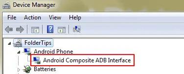Cara Install Xiaomi Android USB Driver