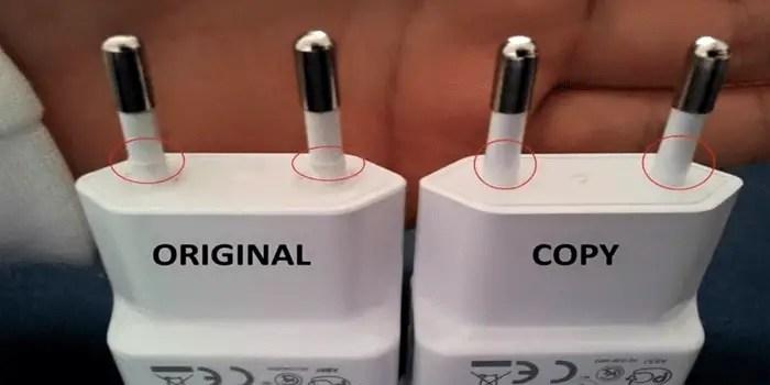 Cara Membedakan Charger Samsung Asli Original Atau Palsu Kw F Tips