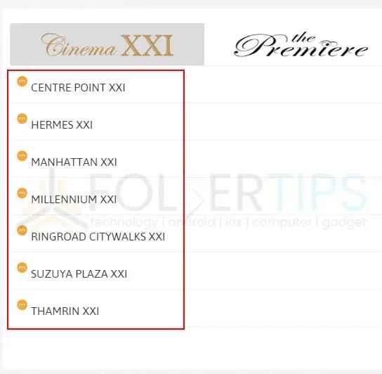 Langkah Pembelian / Pemesanan Tiket