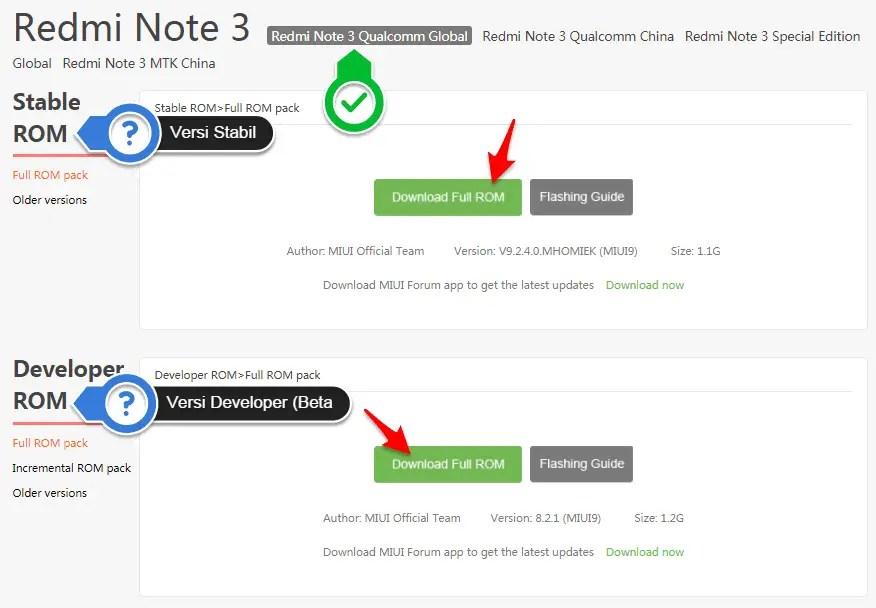 Bagaimana Cara Update ROM Terbaru Dan Fix 4G Kembali?