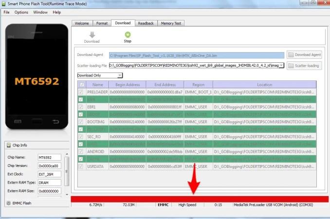 Tutorial Flashing (Mengatasi Bootloop) Redmi Note 3G Mediatek