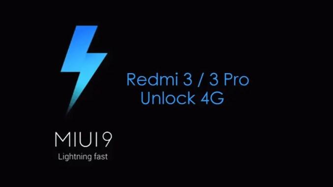 Cara Update Redmi 3 / 3 Pro (Ido) Ke MIUI 9 Global, 4G Aman!