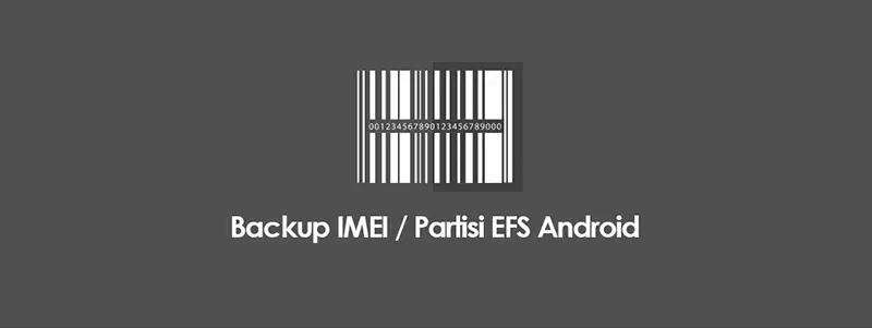 Cara Backup Dan Restore IMEI (Partisi EFS) HP Android Tanpa PC