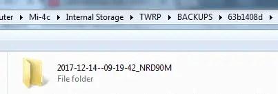 cara backup IMEI dengan TWRP