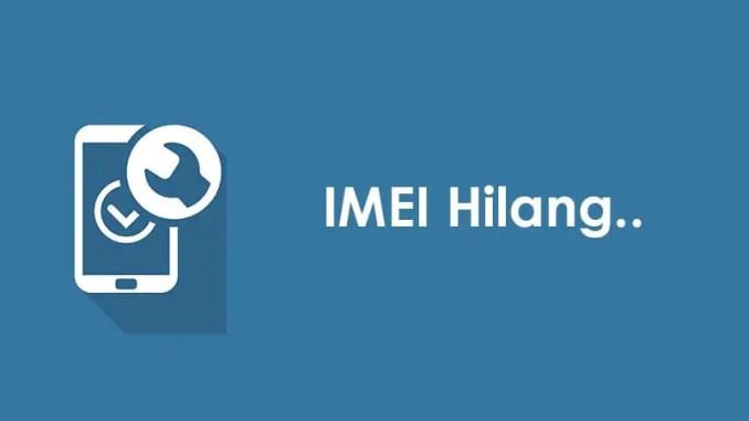 Cara Mengembalikan IMEI Hilang Setelah Flashing / Update Xiaomi