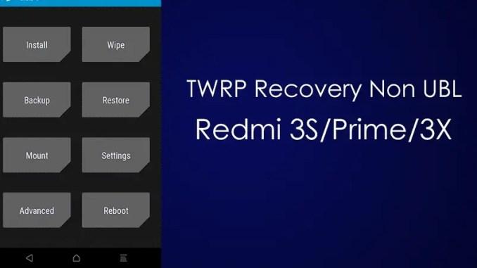 Cara Pasang TWRP Dan Root Redmi 3X / 3S / Prime (Land) Tanpa UBL