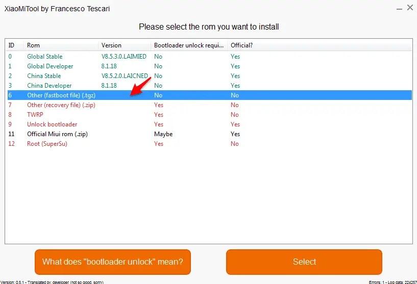 Tutorial Flashing ROM Xiaomi Tanpa UBL (Ganti ROM Distributor Ke ROM Resmi)
