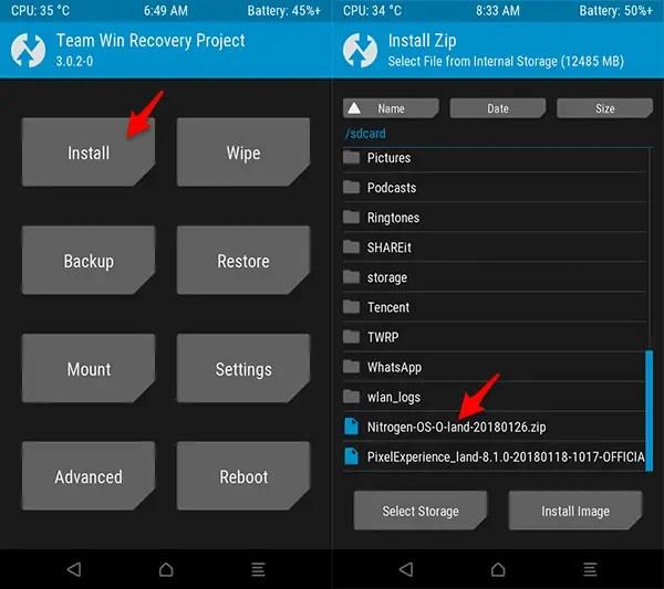 ROM Nitrogen OS Official Redmi 3S/Prime/3X (Land) Oreo 8.1