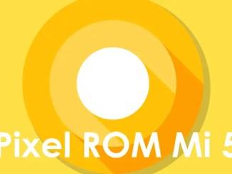 Cara Install ROM Pixel Experience Stable Mi 5 Oreo 8.1 (Gemini)