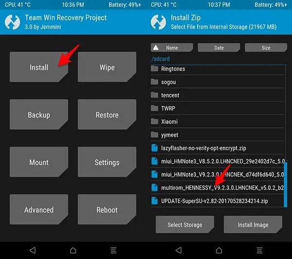 """Cara Update ROM """"Global"""" MIUI 9 Redmi Note 3 MTK (Bhs Indonesia)"""