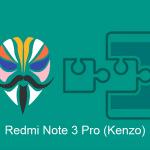 Cara Pasang Modul XPosed Redmi Note 3 Pro (Kenzo) Via Magisk