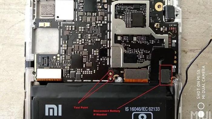 Cara Mengatasi Hardbrick Redmi Note 5 Pro (WhyRed) via Test Point