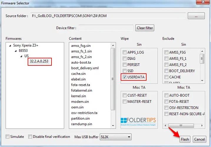 Cara Ganti ROM Docomo ke ROM Global Sony Xperia Z3+ / Z4 via