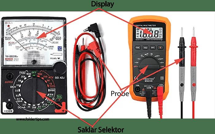 Cara Mengukur Tegangan Hardware Smartphone dengan Multitester