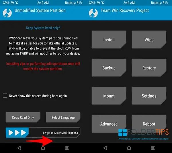 Kumpulan TWRP + Cara Update ROM MIUI 10 Xiaomi Berbagai Varian via TWRP