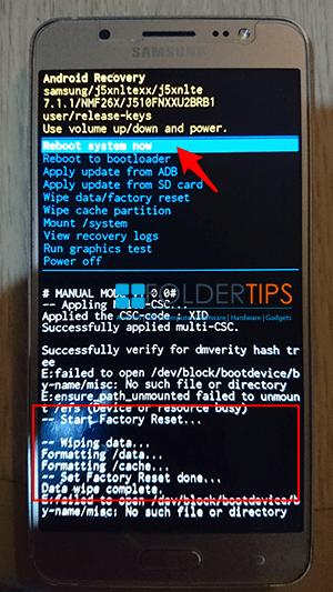 Galaxy Tab E Bootloader