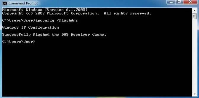 Cara Flush DNS di Windows Vista dan Windows 7