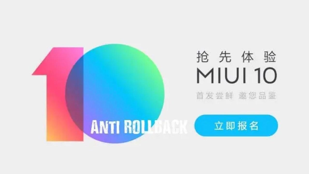 Anti Rollback (ARB) : Mengenal dan Menghindari Xiaomi Mati