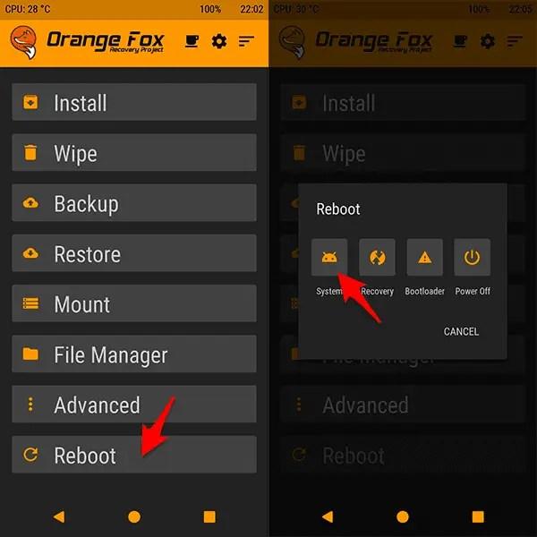 Pasang TWRP Orange Fox Redmi Note 5 Pro