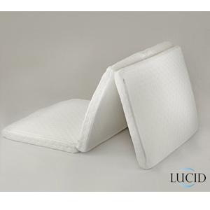 Twin Size Folding Memory Foam Mattress Lucid Azfs80