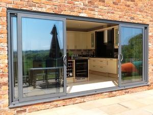 aluminium sliding patio doors folding