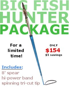 big fish hunter package
