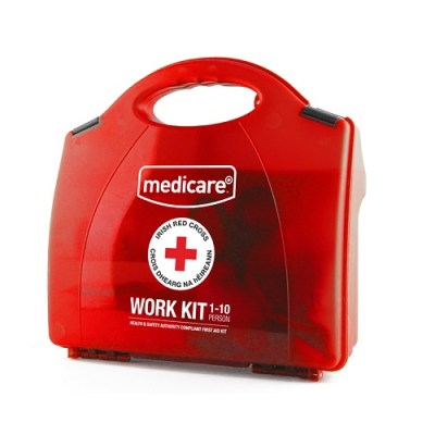 MEDICARE 10 PERSON WORK FIRST AID KIT HSA COMPLIANT