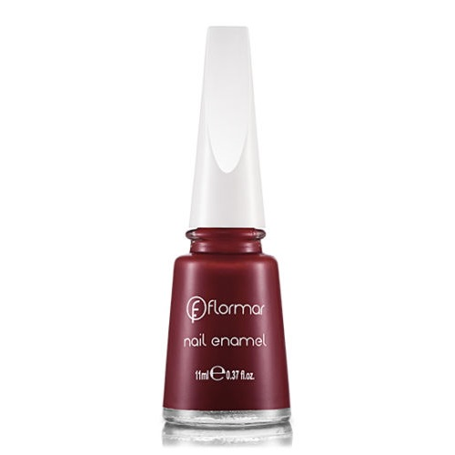 FLORMAR NAIL ENAMEL 228 BORDEAUX RED