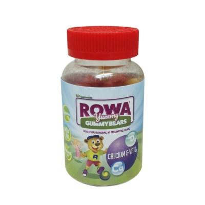 ROWA YUMMY GUMMYBEARS CALCIUM & VITAMIN D3 (60)