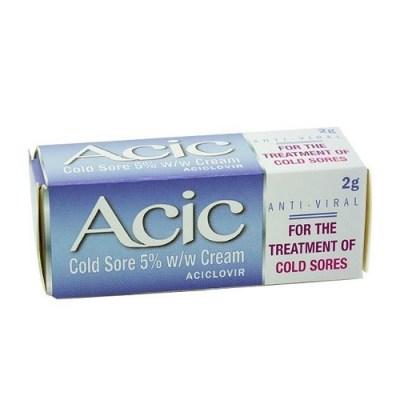 ACIC 5% CREAM ACICLOVIR (2G)
