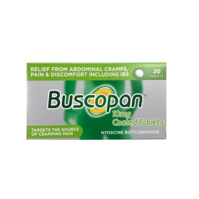BUSCOPAN 10MG TABLETS (20)