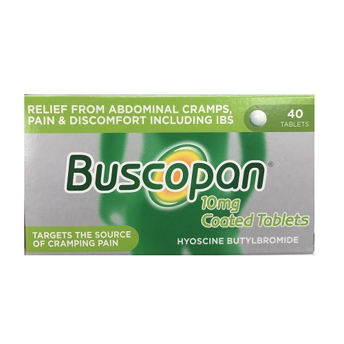 BUSCOPAN 10MG TABLETS (40)