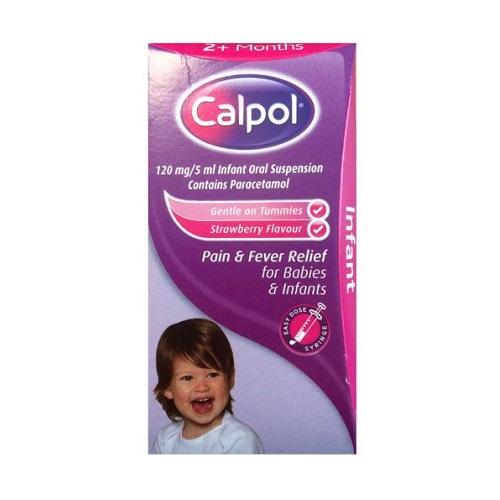CALPOL INFANT 120MG/5ML ORAL SUSPENSION PARACETAMOL (60ML)