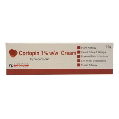 CORTOPIN 1% HYDROCORTISONE CREAM (15G)